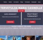 Maria Casinon ilmaiskierrokset